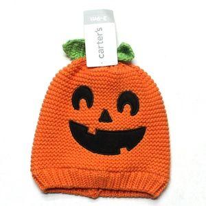 Carter's Halloween Crochet Beanie 3-9 Months NWT